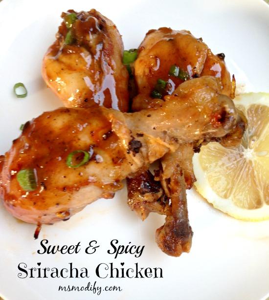 sriracha chicken550
