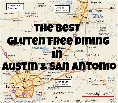 Best Gluten Free Dining in Austin & San Antonio