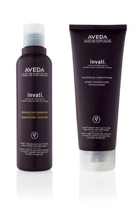 aveda invati-shampoo-conditioner