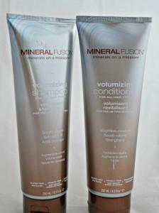 mineral fusion shampoo and conditioner