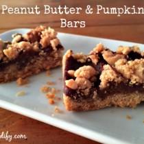 peanut butter and pumpkin dessert bars