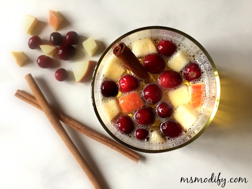 Apple Cinnamon Sangria - MsModify