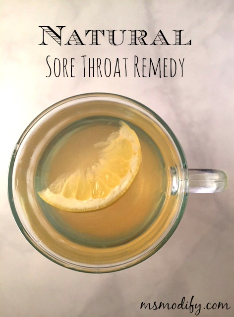at-home sore throat remedy