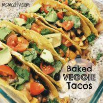 Oven Baked Veggie Tacos