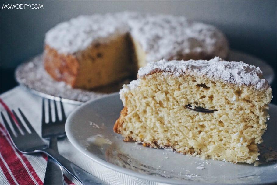 Gluten Free Vasilopita- Greek lucky New Year's Cake