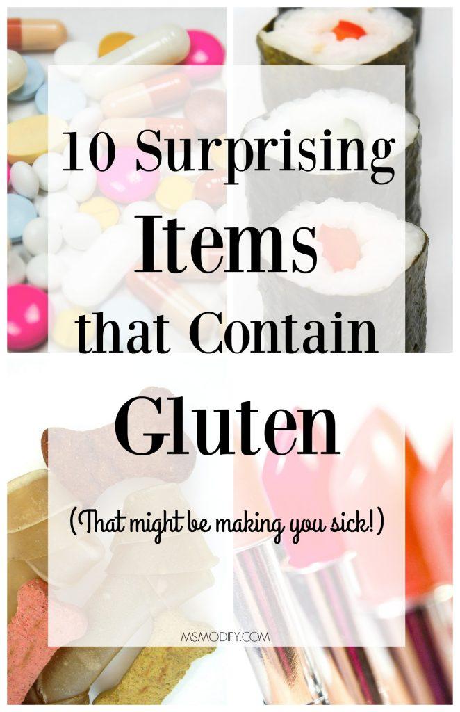 10 Surprising Item that Containing Gluten