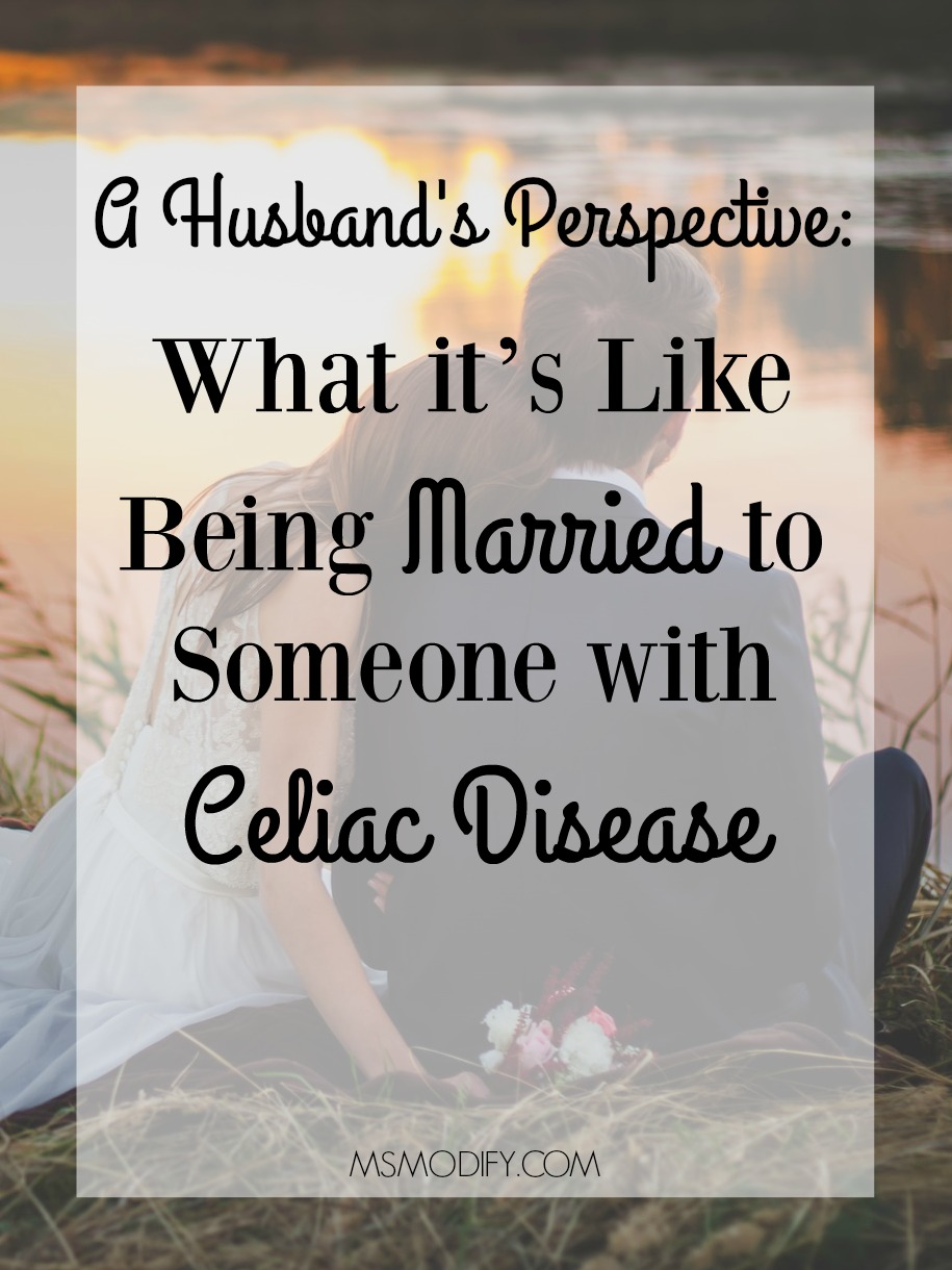 What it's Like Being Married to Someone with Celiac Disease