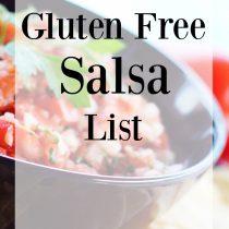 Gluten Free Salsa List