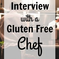 interview with a gluten free chef