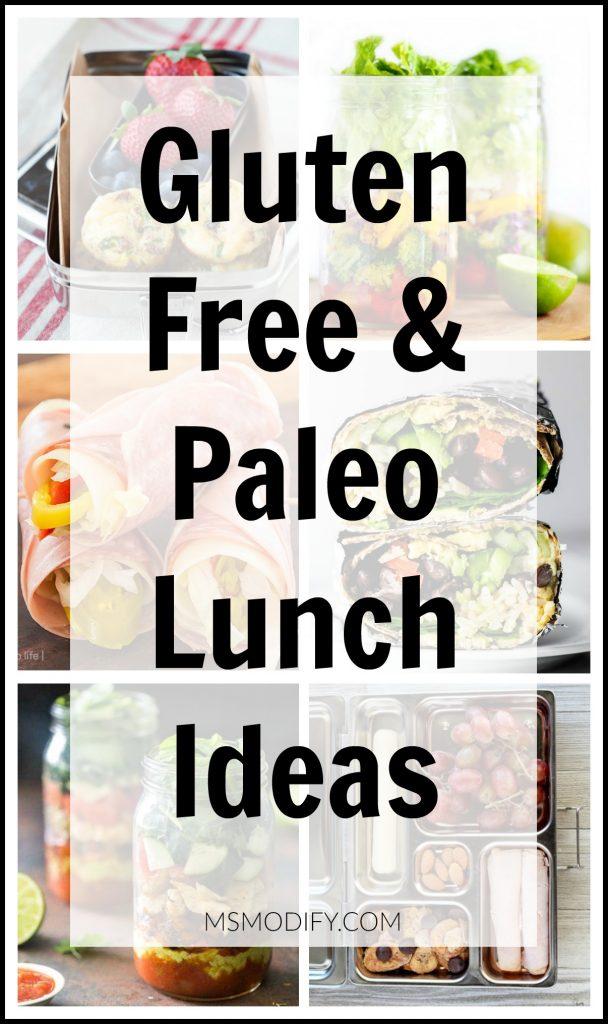 Gluten Paleo Lunch Ideas