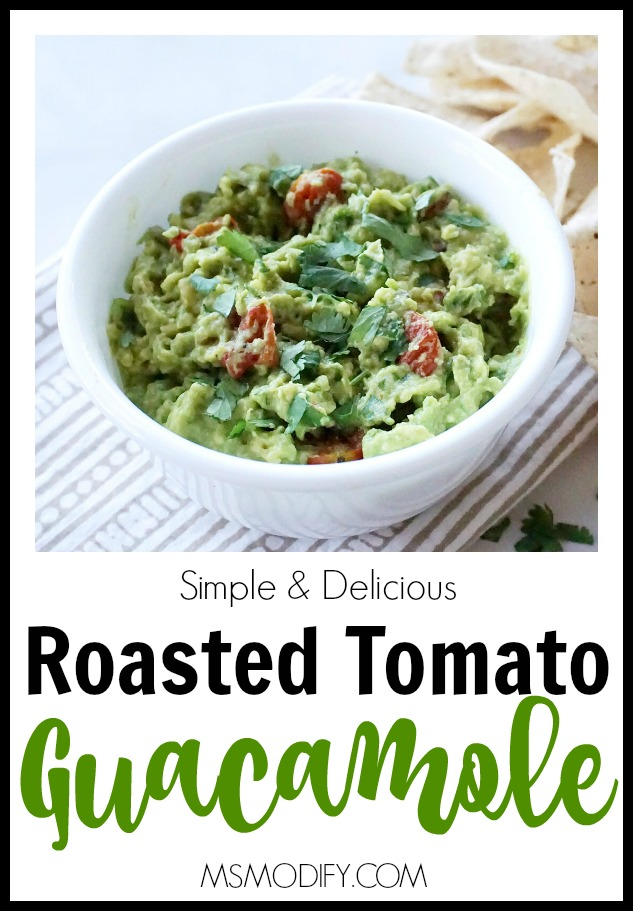 Roasted Tomato Guacamole
