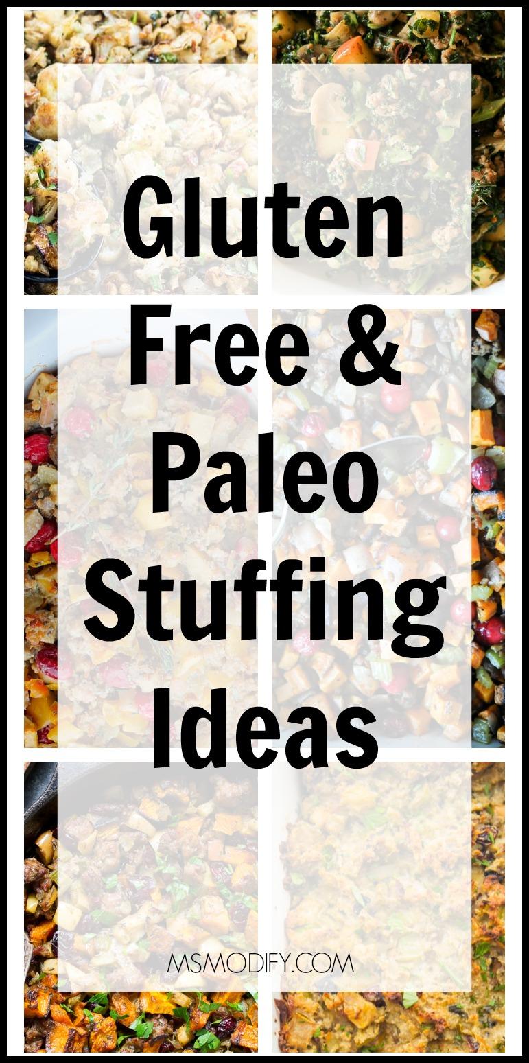 Gluten Free & Paleo Stuffing Ideas
