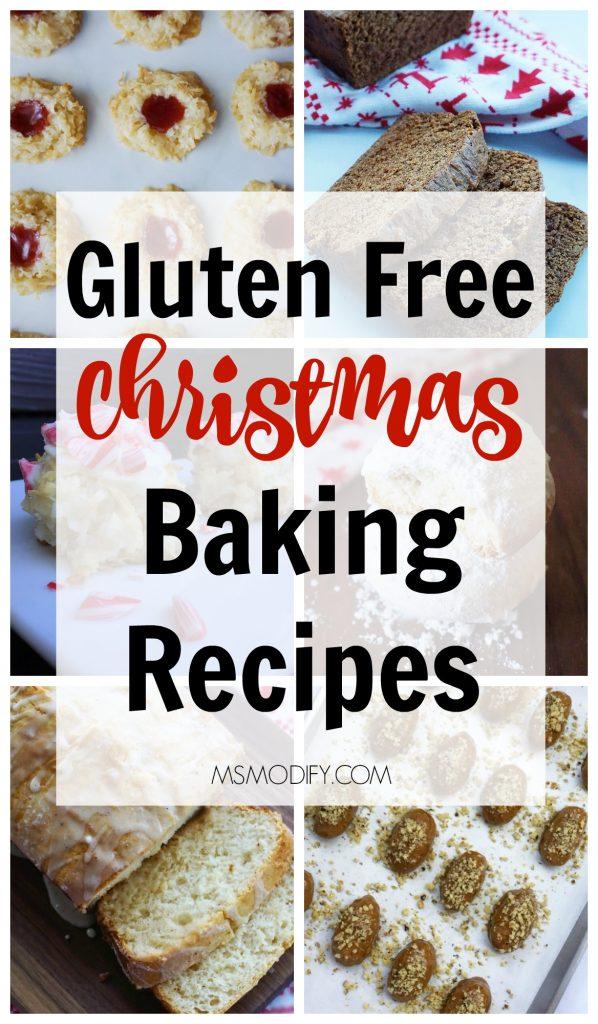 Gluten Free Christmas Baking Recipes