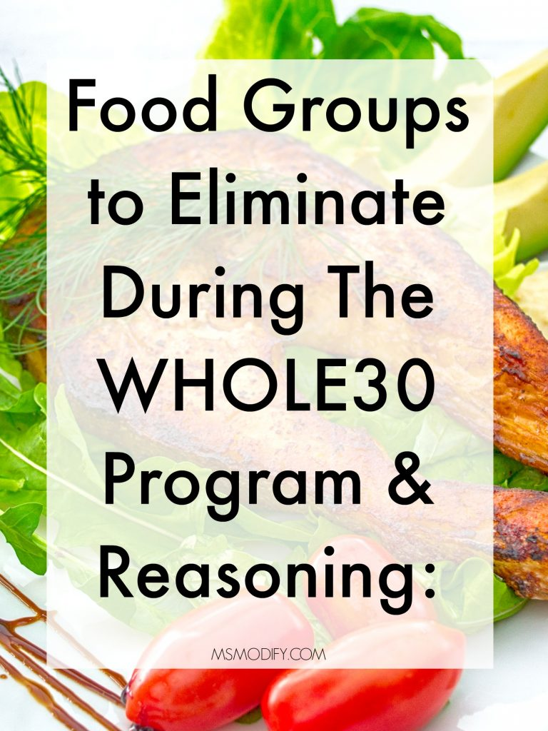 Foods to Eliminate on Whole30