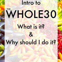 Intro to Whole30
