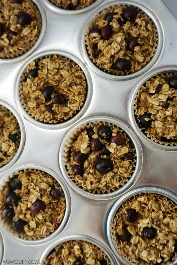 Blueberry Oatmeal Cups
