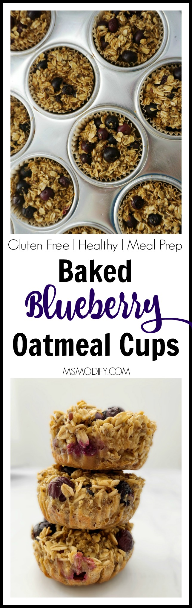 Blueberry Oatmeal CupsBlueberry Oatmeal Cups