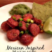 mexican inspired sausage