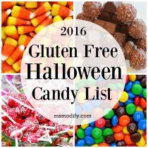 gluten free halloween candy list