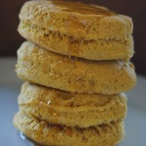 gluten free pumpkin biscuits