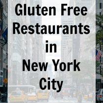 Gluten Free Restaurants in New York City