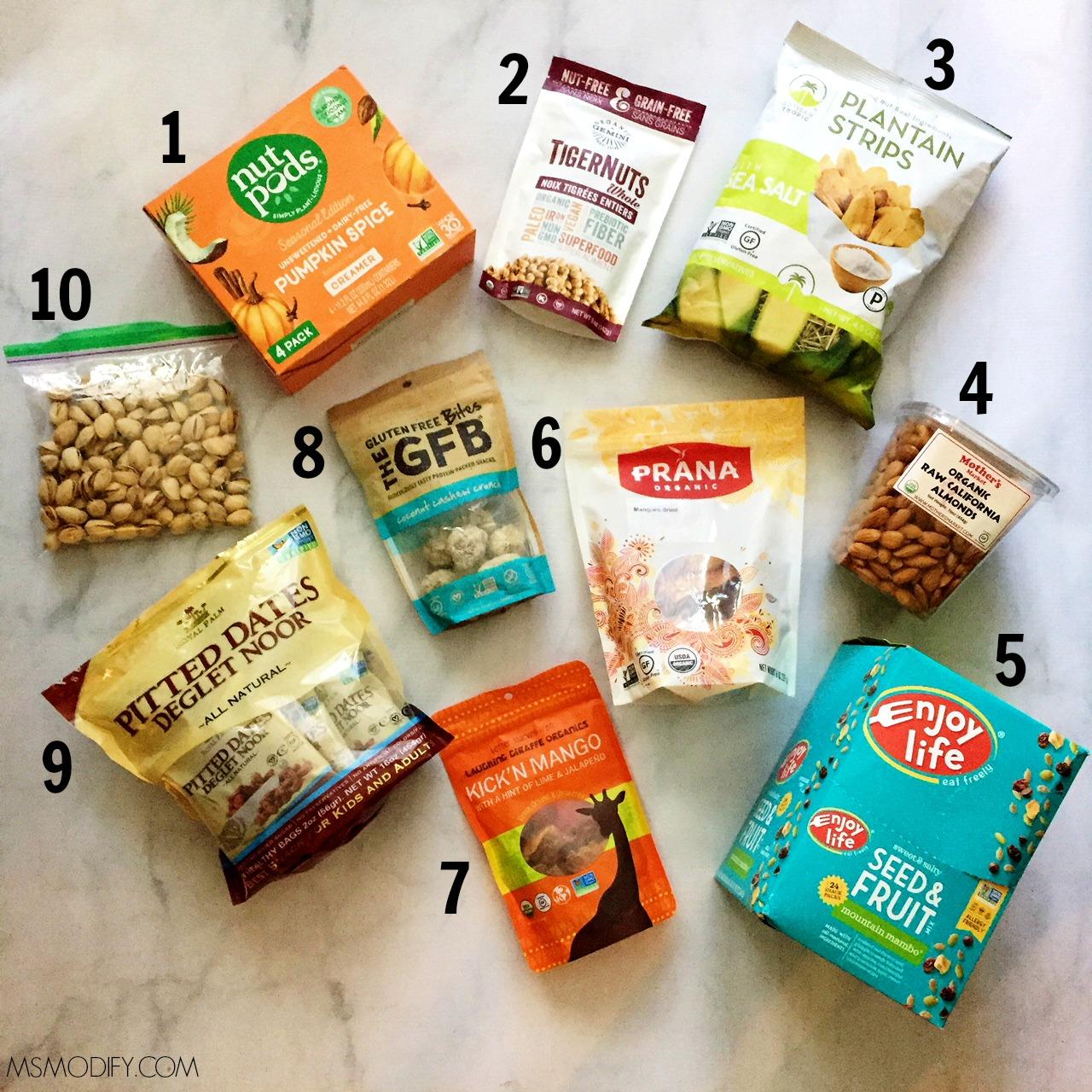 Gluten Free Road Trip Healthy Snack Ideas Msmodify