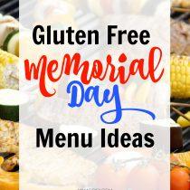 Gluten Free Memorial Day Menu
